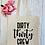 Thumbnail: Dirty Thirty Crew Canvas Classic Shopper