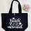 Thumbnail: Beach Please I'm A Mermaid Organic Marina Tote