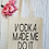 Thumbnail: Alcohol Made Me Do It Prosecco Vodka Canvas Classic Shopper