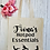 Thumbnail: Personalised Yoga Pilates Hotpod Essentials Canvas Classic Shopper
