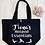 Thumbnail: Personalised Yoga Pilates Hotpod Essentials Organic Marina Tote