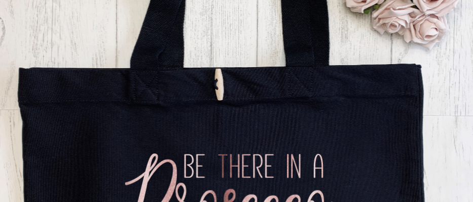 Be There In A Prosecco Organic Marina Tote