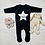 Thumbnail: Personalised Star Long Sleeve Rompersuit