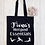 Thumbnail: Personalised Yoga Pilates Hotpod Essentials Canvas Classic Shopper