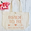 Thumbnail: Personalised Bride To Be Hen Party Organic Marina Tote