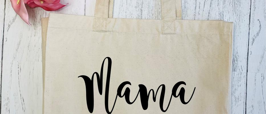Mama Bear Teepee Canvas Classic Shopper