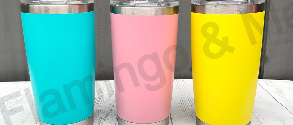 Insulated Pint Tumblers - Mock Up