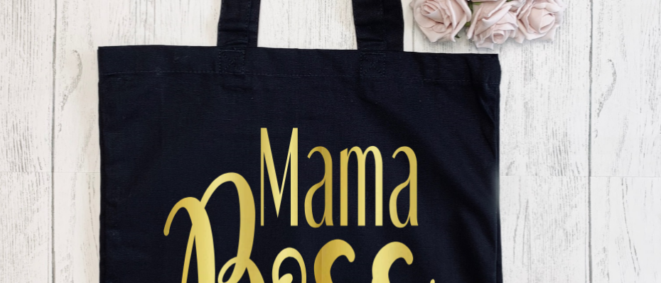 Mama Boss Canvas Classic Shopper