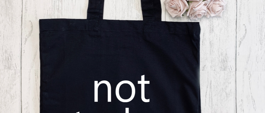 Not Today Canvas Classic Shopper