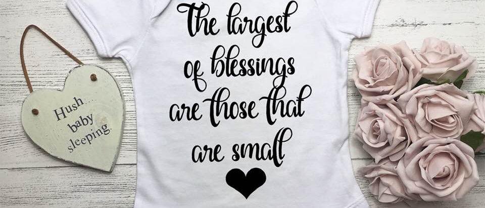 Small Blessings Baby Bodysuit