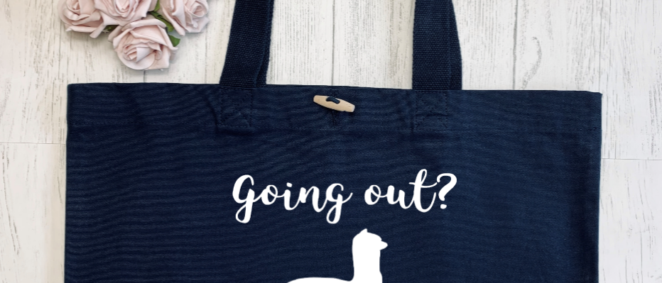 Going Out? Alpaca Bag! Organic Marina Tote
