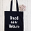 Thumbnail: Tired As A Mother Canvas Classic Shopper