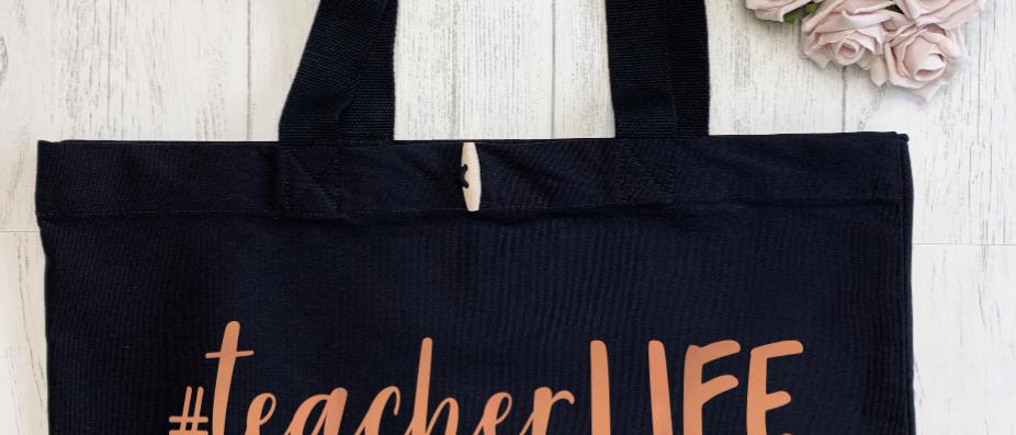 Teacher Life Organic Marina Tote