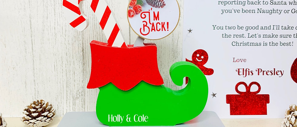 Personalised Elf Boot For Elf On The Shelf