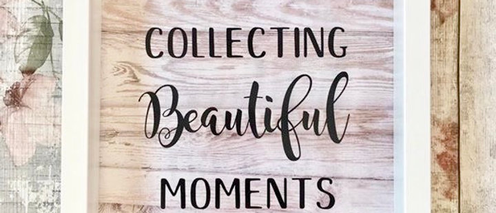 Collecting Beautiful Moments Drop Box Frame