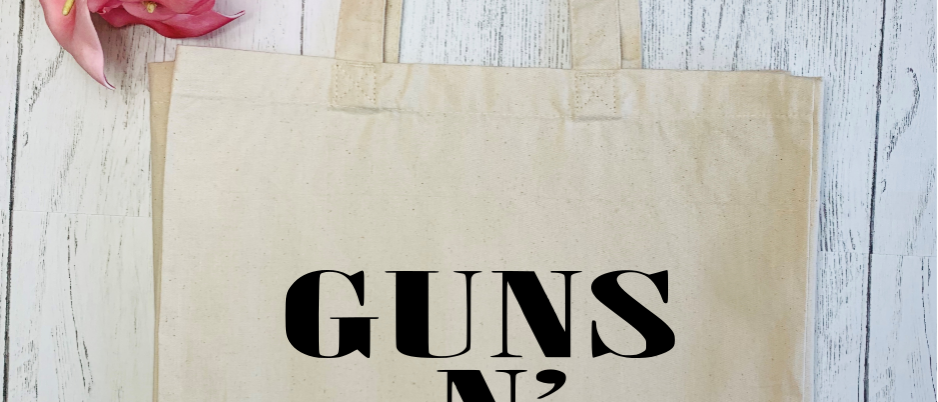 Guns N Rose Canvas Classic Shopper