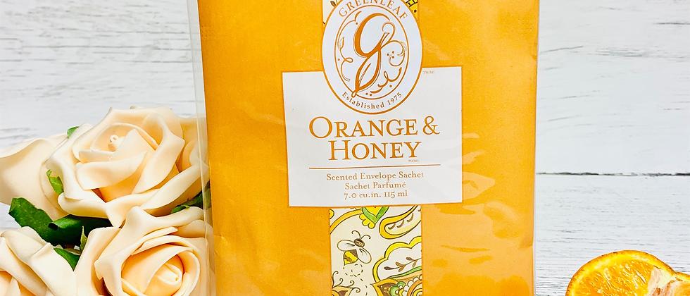 Orange & Honey Scented Sachet