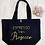 Thumbnail: Espresso Then Prosecco Organic Marina Tote