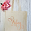 Thumbnail: Personalised Wifey Since Canvas Classic Shopper