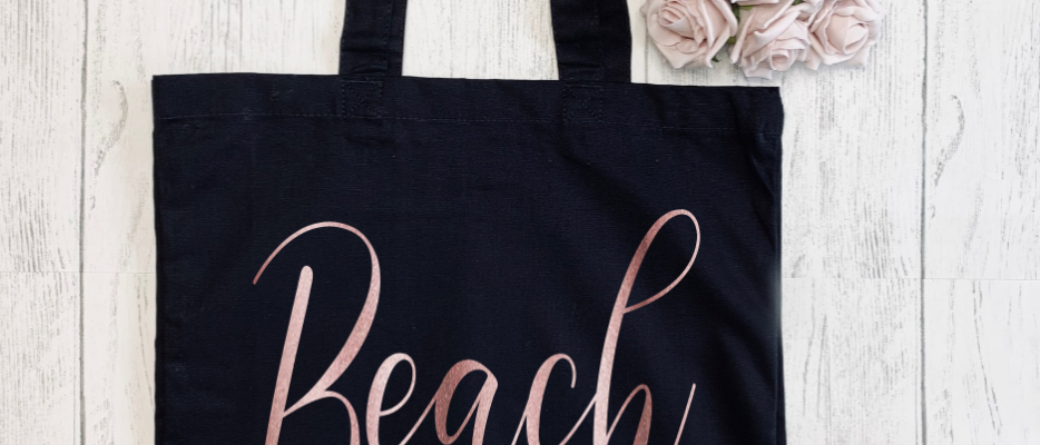 Beach Please Canvas Classic Shopper