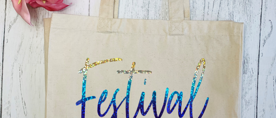 Festival Vibes Canvas Classic Shopper
