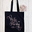 Thumbnail: Wife Of The Party Hen Canvas Classic Shopper