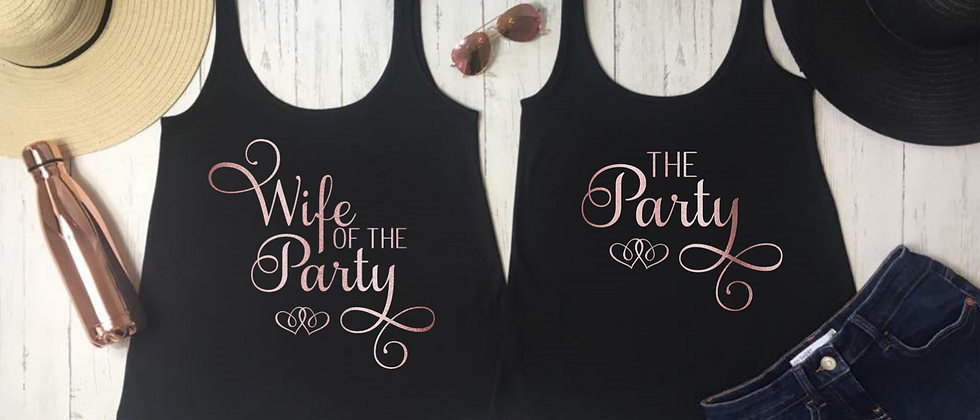 Wife of The Party / The Party Vests
