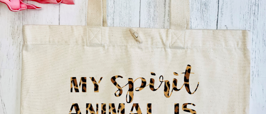 My Spirit Animal Is Alcohol Organic Marina Tote