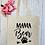Thumbnail: Mama Bear Claw Canvas Classic Shopper