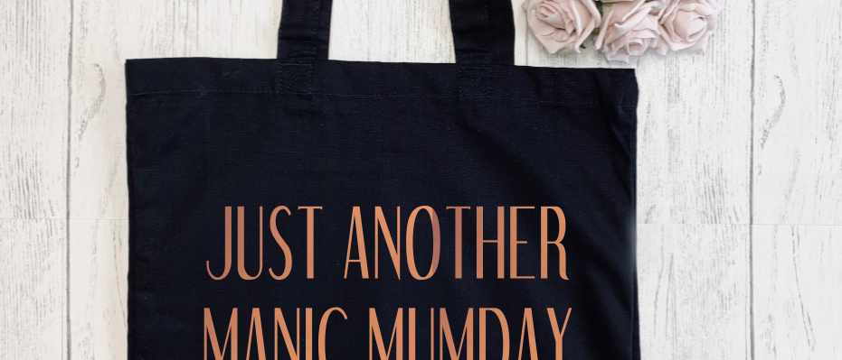 Just Another Manic Mumday Canvas Classic Shopper