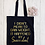 Thumbnail: Snaccident Canvas Classic Shopper