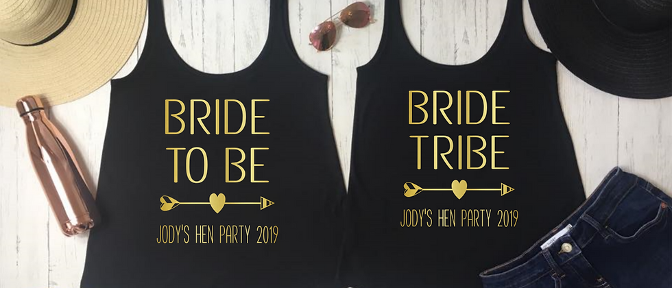 Bride Tribe Vests