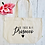 Thumbnail: Be There In A Prosecco Organic Marina Tote