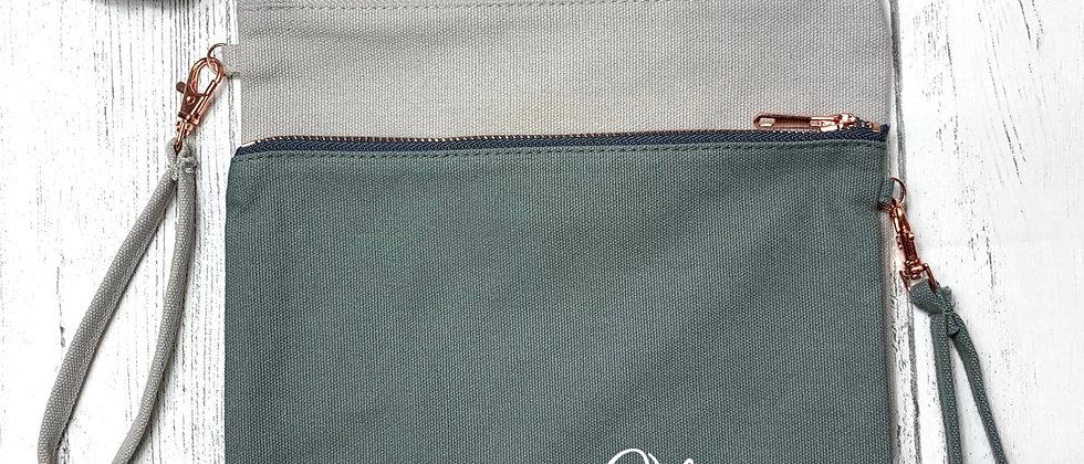 Clutch Bag with Wrist Strap