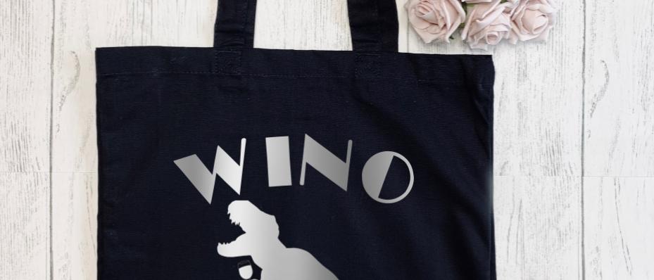 Wino Saur Canvas Classic Shopper