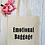 Thumbnail: Emotional Baggage Canvas Classic Shopper