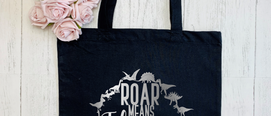 """Roar Means I Love You """"Bag For Life"""" Tote"""
