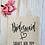 Thumbnail: Personalised Bridesmaid Hen Party Canvas Classic Shopper