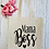 Thumbnail: Mama Boss Canvas Classic Shopper