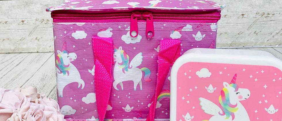 Rainbow Unicorn Lunch Bag