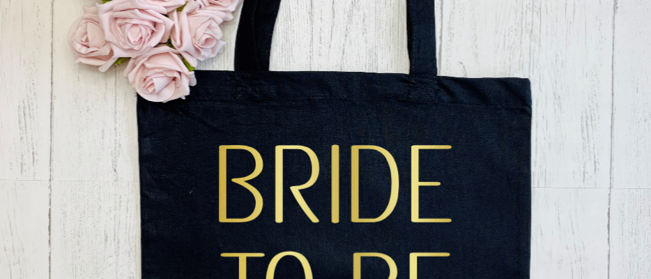 """Personalised Bride Tribe Bride To Be Hen Party """"Bag For Life"""" Tote"""