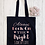 Thumbnail: Always Look On The Bright Side Of Life Canvas Classic Shopper