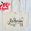 Thumbnail: Personalised Mrs To Be Hen Bride Organic Marina Tote