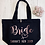 Thumbnail: Personalised Bride Hen Party Organic Marina Tote