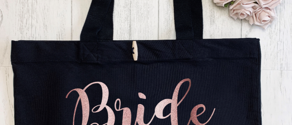 Personalised Bride Hen Party Organic Marina Tote