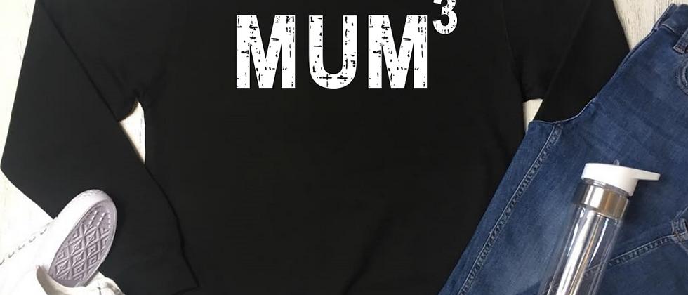 Personalised Mum To The Power Of Sweatshirt