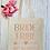 Thumbnail: Bride Tribe Love Arrow Canvas Classic Shopper