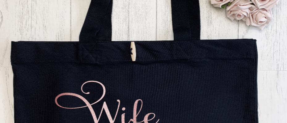 Wife Of The Party Hen Organic Marina Tote