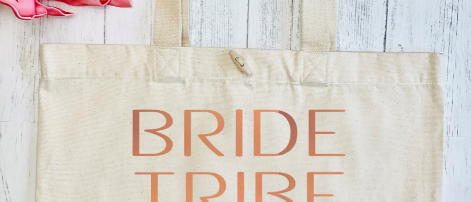 Personalised Bride Tribe Hen Party Organic Marina Tote