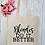 Thumbnail: Blondes Do It Better Canvas Classic Shopper